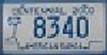Picture License plate